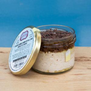 גבינת שמנת עם זיתי קלמטה
